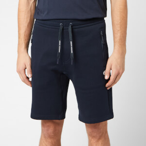 Armani Exchange Men's Small Logo Sweat Shorts - Navy