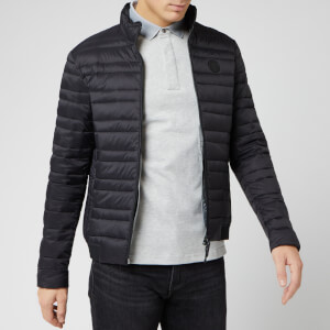 Armani Exchange Men's Down Jacket - Black/Grey