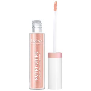 Babo Botanicals Nutri-Shine Luminizer Vegan Lip Gloss - Nude Pearl 4ml