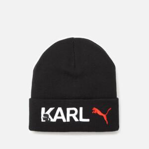Puma X Karl Lagerfeld Women's Beanie Hat - Puma Black