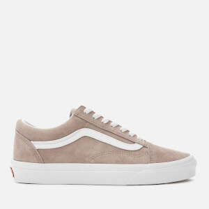 Vans Women's Old Skool Suede Trainers - Shadow Grey/True White