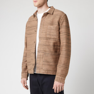 Folk Men's Assembly Jacket - Oatmeal Texture