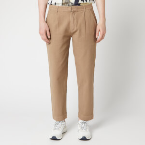 Folk Men's Signal Pants - Oatmeal Canvas
