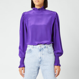 Isabel Marant Étoile Women's Yoshi Top - Purple