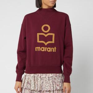 Isabel Marant Étoile Women's Moby Sweatshirt - Burgundy