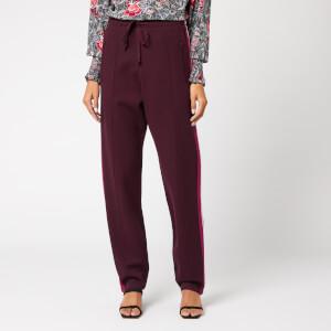 Isabel Marant Étoile Women's Docia Sweatpants - Burgundy