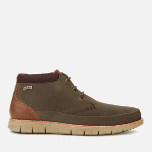 Barbour Men's Nelson Nubuck 3-Eye Chukka Boots - Brown