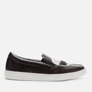 Karl Lagerfeld Women's Kupsole II Karl Ikonic Slip-On Trainers - Black