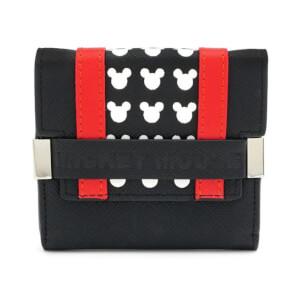 Loungefly Disney Mickey Mouse Trifold Purse