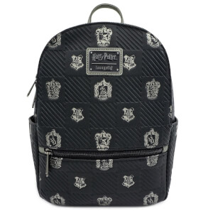 Harry Potter Black Crests Mini Backpack