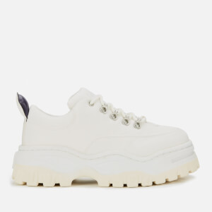 Eytys Women's Angel Canvas Chunky Trainers - Bright White