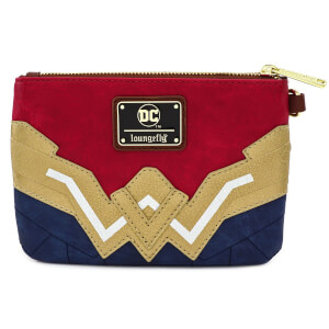 Loungefly DC Comics Wonder Woman Faux Leather Wristlet