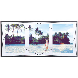 Umbra Prisma Three Photo Frame Display - Black - 6 x 4""