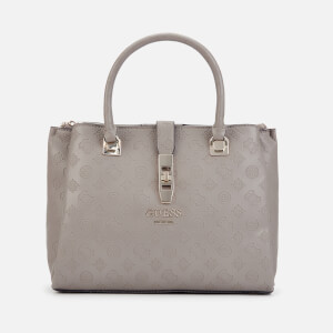 Guess Women's Peony Classic Girlfriend Carryall Bag - Taupe