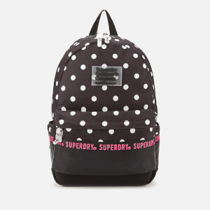 Superdry Women's Repeat Series Montana Backpack - Black Polka Dot