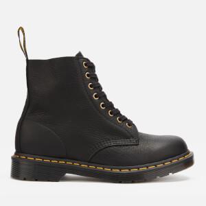 Dr. Martens Men's 1460 Ambassador Soft Leather Pascal 8-Eye Boots - Black
