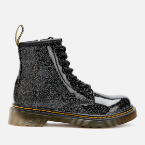 Dr. Martens Kid's 1460 Glitter Lace-Up Boots - Black
