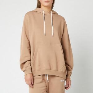 MSGM Women's Hooded Sweat - Beige