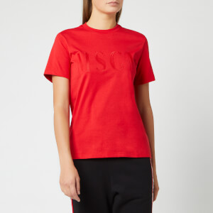MSGM Women's Basic T-Shirt - Red