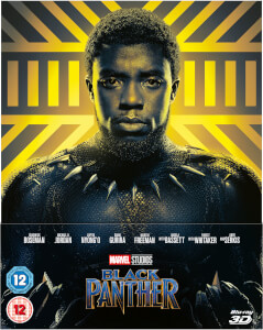 Black Panther 3D (Includes 2D Blu-ray) – Zavvi UK Exclusive Lenticular Edition Steelbook