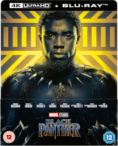 Black Panther 4K Ultra HD (Inkl. 2D Blu-ray) – Zavvi Exklusives Lenticular Edition Steelbook