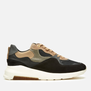 Android Homme Men's Malibu Trainers - Black Taupe Carbon Fibre