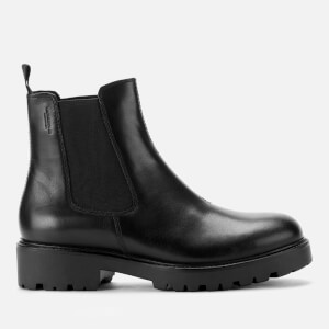 Vagabond Women's Kenova Leather Chunky Chelsea Boots - Black