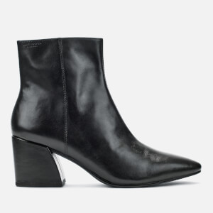 Vagabond Women's Olivia Leather Heeled Ankle Boots - Black