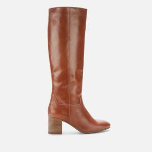 Vagabond Women's Nicole Leather Knee High Boots - Cinnamon