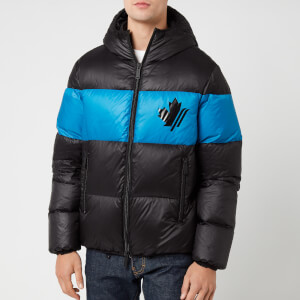 Dsquared2 Men's Down Coat - Black/Bluette