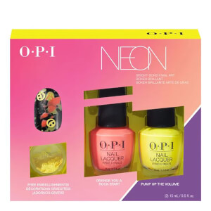 OPI Limited Edition PUMP Neon Collection - Nail Art Duo Pack #2