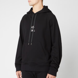 Neil Barrett Men's Triptych Thunderbolt Hoody - Black/White
