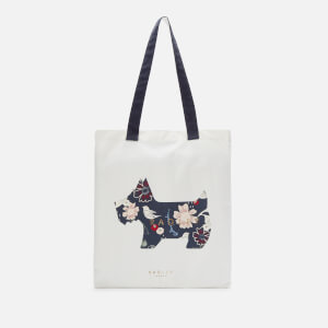 Radley Women's Heritage Dog Painterly Floral Medium Tote Bag - Ink