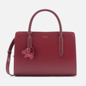 Radley Women's Liverpool Street Medium Ziptop Multiway Bag - Merlot