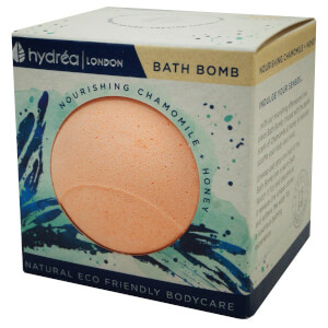 Hydrea London Nourishing Chamomile & Honey Bath Bomb 2 x 60g