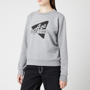 A.P.C. Women's Asa Sweatshirt - Grey