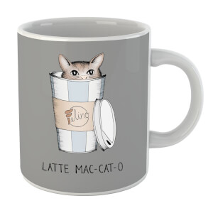 Latte Mac-Cat-O Mug