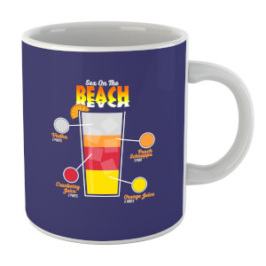 Infographic Sex On The Beach Mug