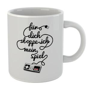 I'd Pause My Game For You (DE) Mug