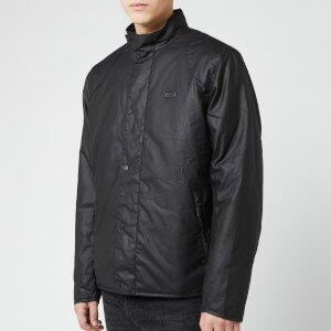 Barbour International Men's Ducal Wax Jacket - Black