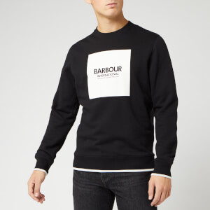 Barbour International Men's Scortch Crew Sweatshirt - Black