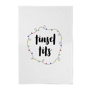 Tinsel T**s Cotton Tea Towel