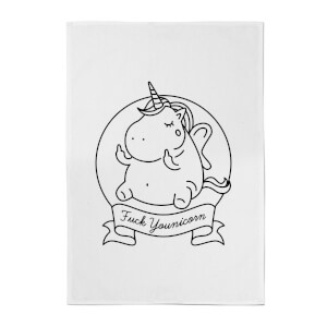 F*** Younicorn Cotton Tea Towel