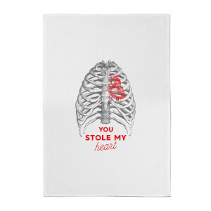 You Stole My Heart Cotton Tea Towel
