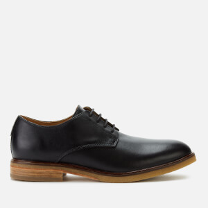 Clarks Men's Clarkdale Moon Leather Derby Shoes - Black
