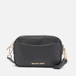 MICHAEL MICHAEL KORS Women's Crossbodies Small Camera Belt/Cross Body Bag - Black