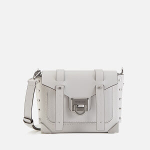 MICHAEL MICHAEL KORS Women's Manhattan Small Messenger Bag - Optic White