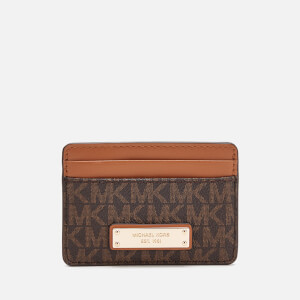 MICHAEL MICHAEL KORS Women's Money Pieces Card Holder - Brown
