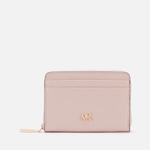 MICHAEL MICHAEL KORS Women's Money Pieces Zip Around Coin Card Case - Soft Pink