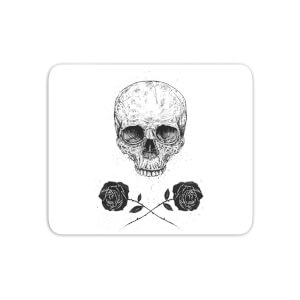 Skull And Roses Mouse Mat